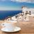 Санторини · кафе · лет · острове · Греция · воды - Сток-фото © neirfy