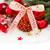 örökzöld · fa · piros · karácsony · díszítések · fehér - stock fotó © neirfy
