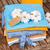 hoop · katoen · weefsel · materiaal · geïsoleerd · witte - stockfoto © neirfy