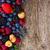 background of fresh berries stock photo © neirfy