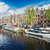 kanaal · Amsterdam · holland · retro · hemel · water - stockfoto © neirfy