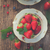 fresh strawberry in cup stock photo © neirfy