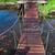 öreg · híd · gyönyörű · kert · virág · út - stock fotó © neirfy