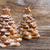 dois · delicioso · natal · bolinhos · forma · doce - foto stock © neirfy