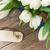 weiß · Tulpen · frischen · Holz - stock foto © neirfy