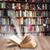 fából · készült · könyvespolc · iroda · űr · bár · piac - stock fotó © neirfy