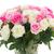 buquê · fresco · rosas · rosa · branco · para · cima - foto stock © neirfy