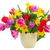 bouquet of   tulips and daffodils stock photo © neirfy
