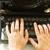 vintage · schrijfmachine · boeken · witte · kantoor · boek - stockfoto © neirfy