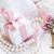 scatola · regalo · tasti · due · perla · gioielli · pizzo - foto d'archivio © neirfy