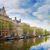 embankment of canal ring amsterdam stock photo © neirfy