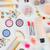 makyaj · ürünleri · model · pembe · kadın · yüz - stok fotoğraf © neirfy