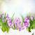 művészet · kikerics · virágok · hó · húsvét · háttér - stock fotó © neirfy