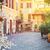 street in trastevere rome italy stock photo © neirfy