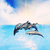 dolphins jumping in the sea stock photo © nejron