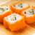 сашими · свежие · лосося · бамбук · пластина · продовольствие - Сток-фото © nejron