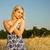 beautiful woman in the wheat field stock photo © nejron