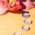 branco · roxo · orquídea · primavera - foto stock © nejron