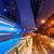 rapide · déplacement · bus · nuit · nuages · route - photo stock © nejron
