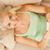 mutlu · genç · kadın · pozitif · gebelik · testi · kadın - stok fotoğraf © nejron