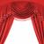 vermelho · etapa · brilhante · teatro · cortina · preto - foto stock © nejron