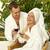 casal · banho · robe · varanda · homem · hotel - foto stock © nejron