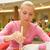 sushis · femme · restaurant · tranche - photo stock © nejron