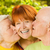 ouders · zoenen · dochter · moeder · vader · glimlachend - stockfoto © nejron