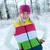 bevroren · mooie · vrouw · winter · kleding · buitenshuis · gezicht - stockfoto © nejron