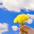 タンポポ · 手 · 美しい · 笑みを浮かべて · 少女 · 春 - ストックフォト © nejron