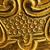bronz · metal · doku · yüksek · ayrıntılar · soyut · dizayn - stok fotoğraf © nejron