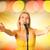 ritratto · femminile · rock · cantante · microfono · donna - foto d'archivio © nejron
