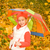 beautiful little girl with umbrella stock photo © nejron