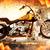 feu · brûlant · squelette · équitation · moto - photo stock © nejron