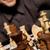 xadrez · mestre · inteligente · mover · branco - foto stock © nejron