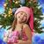 помощник · девушки · шкатулке · рождественская · елка · женщину - Сток-фото © nejron