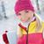 улыбаясь · Кубок · зима · лес · сезон - Сток-фото © nejron