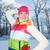 sonriendo · mujer · hermosa · aire · libre · mujer · cara · moda - foto stock © Nejron