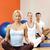 grupo · de · personas · yoga · ejercicio · nina · deporte · cuerpo - foto stock © nejron