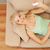 gelukkig · glimlachende · vrouw · home · zwangerschaptest · zwangerschap - stockfoto © nejron