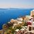 gyönyörű · tájkép · kilátás · Santorini · sziget · Görögország - stock fotó © nejron