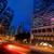snel · bewegende · auto · nacht · wolken · stad - stockfoto © nejron