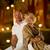 romántica · ancianos · Pareja · sesión · junto · banco - foto stock © nejron