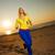 futó · nő · fut · napsütés · naplemente · fitnessz - stock fotó © nejron