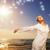 красивой · расслабляющая · океана · женщину · девушки - Сток-фото © Nejron