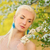 mooie · jonge · vrouw · bloem · bos · water · mode - stockfoto © nejron