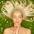 若い女性 · 草 · ツリー · 夏 · 女性 - ストックフォト © nejron