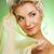 voorjaar · bruid · mooie · jonge · vrouw · groene · mode - stockfoto © nejron