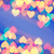 abstract blurred background natural heart shaped bokeh stock photo © nejron