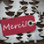 red christmas label with merci means thank you stock photo © nelosa